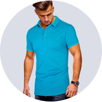 wholesale men's polo t-shirts