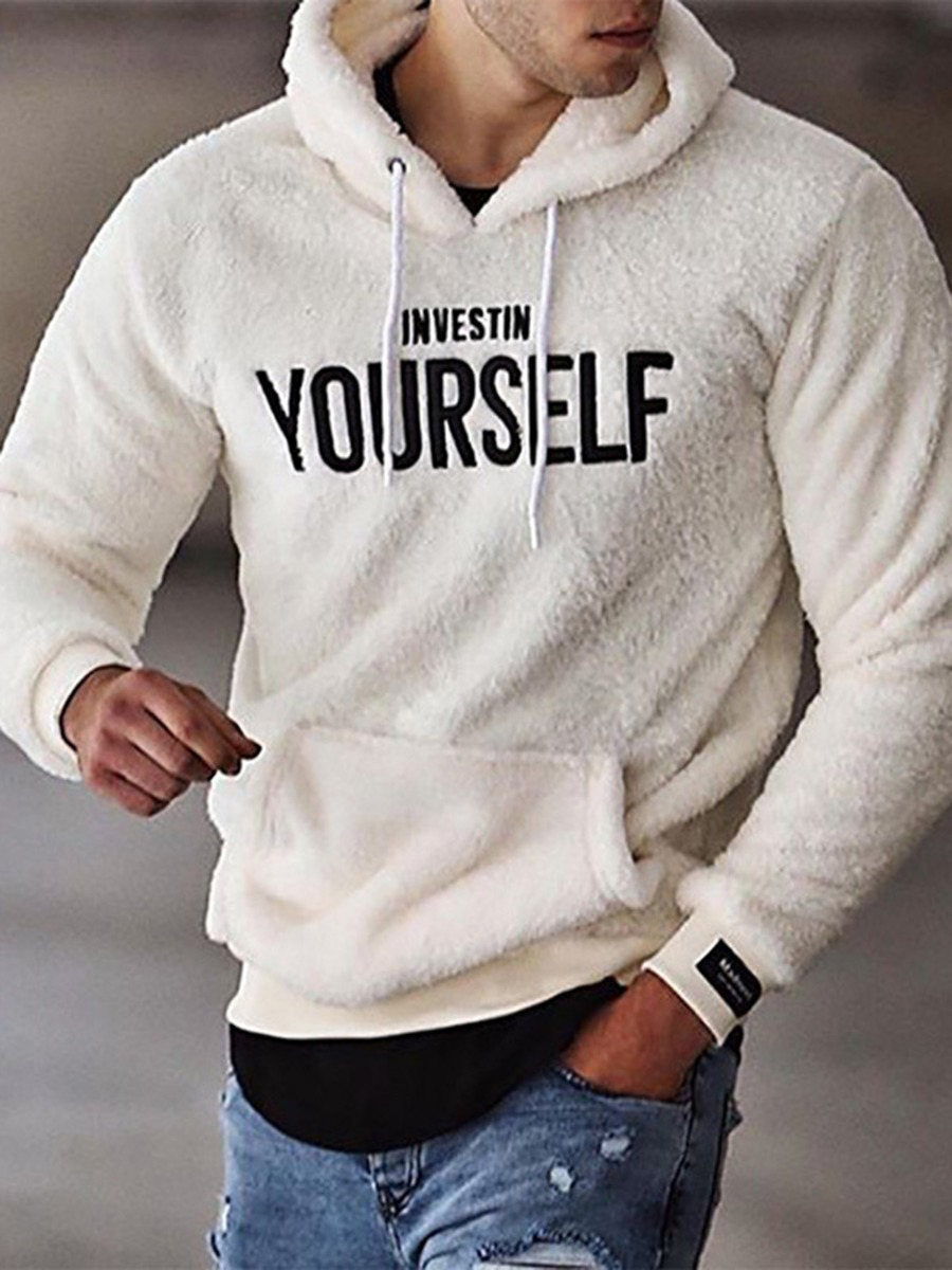 invest in yourself hoodie