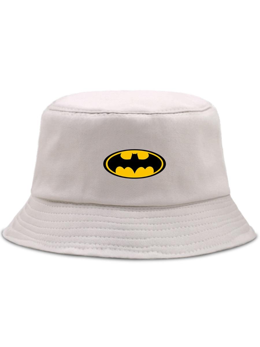 Cartoon Batman Fisherman Bucket Hat