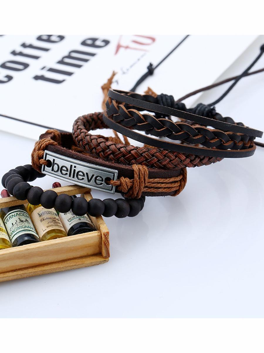 Multi-layered Woven Believe Bracelet