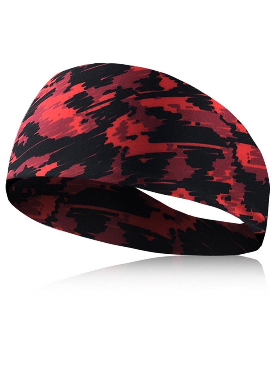 Elastic Tie Dye Sports Headband